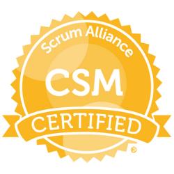 Certified Professionnal Scrum Master